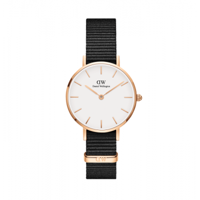 ΡΟΛΟΙ ΧΕΙΡΟΣ - DANIEL WELLINGTON Classic Petite Cornwall 28MM Rose Gold White