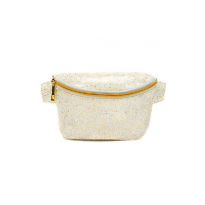 Τσαντάκι Μέσης Mi-Pac Bum Bag Glitter White/Gold