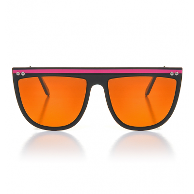 Γυαλιά Ηλίου Spitfire Echo Beach Matt Black/Pink/Bright Brown
