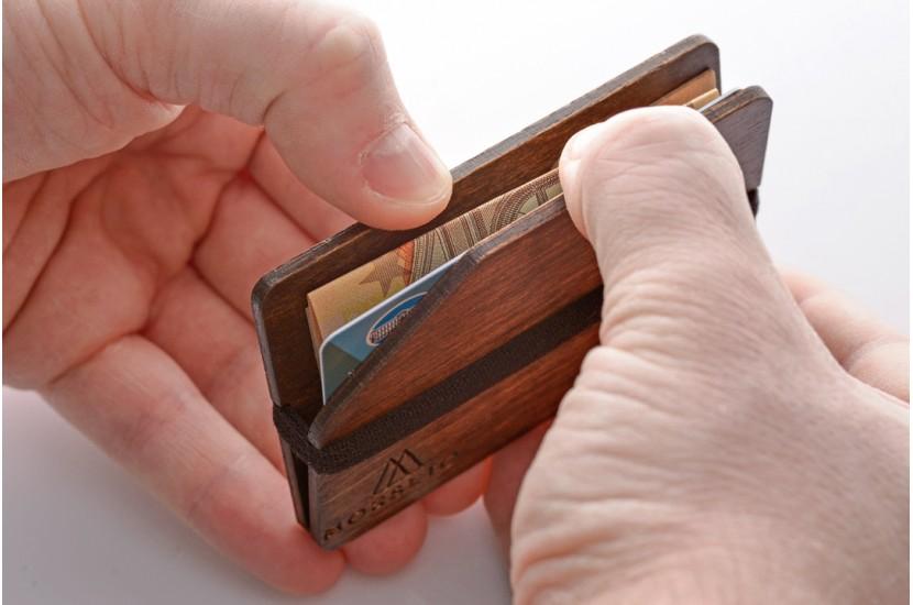Ξύλινο πορτοφόλι - Simple Squirrel