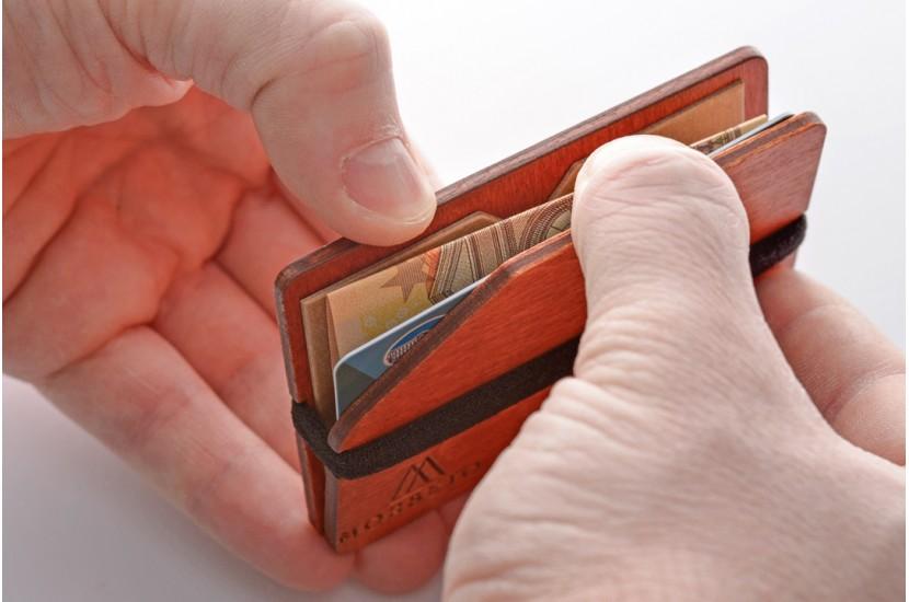 Ξύλινο πορτοφόλι - Simple Lola