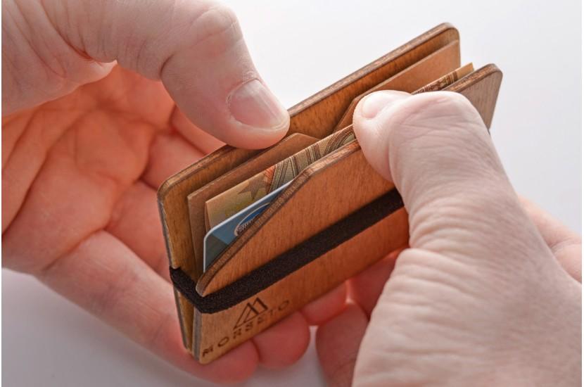 Ξύλινο πορτοφόλι - Simple Easy