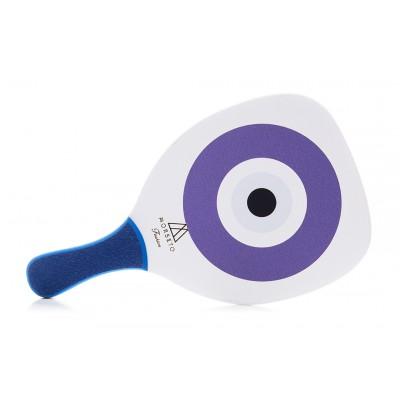 Ρακέτα Παραλίας MORSETO FASHION Eye με Μπλε Ίσια Λαβή