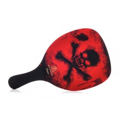 Ρακέτα Παραλίας MORSETO FASHION Pirates Red με Μαύρη Ίσια Λαβή