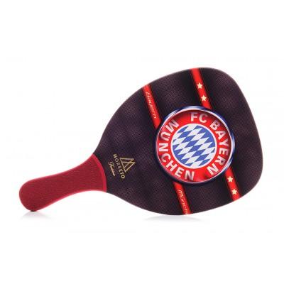 Ρακέτα Παραλίας MORSETO FASHION FC Bayern με Κόκκινη Ίσια Λαβή