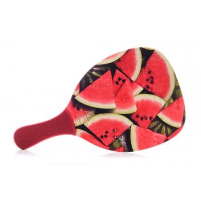 Ρακέτα Παραλίας MORSETO FASHION Watermelon με Κόκκινη Ίσια Λαβή
