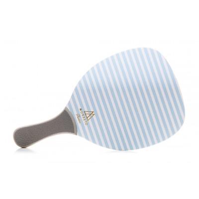 Ρακέτα Παραλίας MORSETO FASHION Stripes Blue με Γκρί Ίσια Λαβή