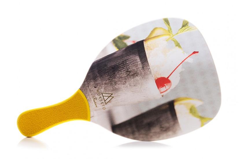 Ρακέτα Παραλίας MORSETO FASHION Mojito με Κίτρινη Ίσια Λαβή