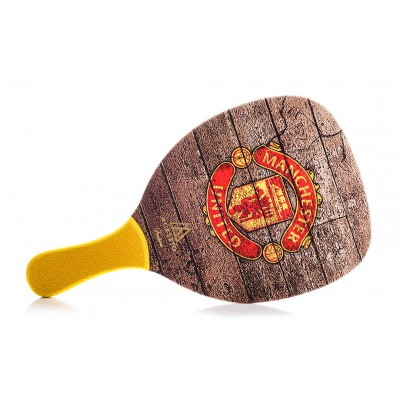 Ρακέτα Παραλίας MORSETO FASHION Manchester United με Κίτρινη Ίσια Λαβή