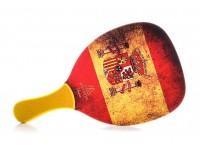 Ρακέτα Παραλίας MORSETO FASHION Spain με Κίτρινη Ίσια Λαβή