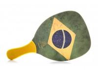 Ρακέτα Παραλίας MORSETO FASHION Brazil με Κίτρινη Ίσια Λαβή