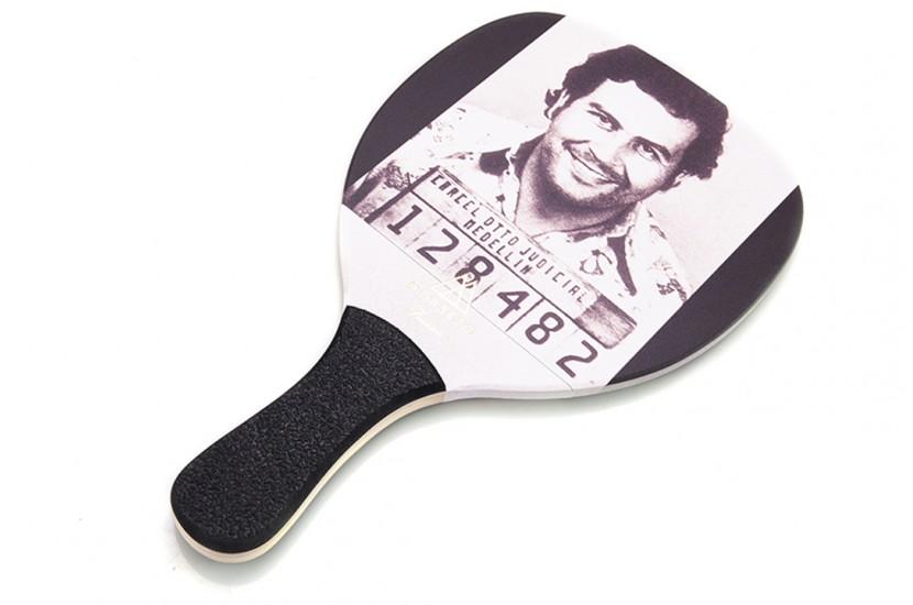 Ρακέτα Παραλίας MORSETO FASHION Pablo Escobar1 με Μαύρη Ίσια Λαβή