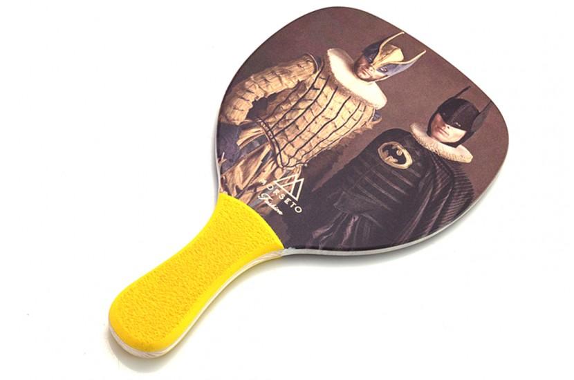 Ρακέτα Παραλίας MORSETO FASHION Vintage Wolverine - Batman με Κίτρινη Ίσια Λαβή