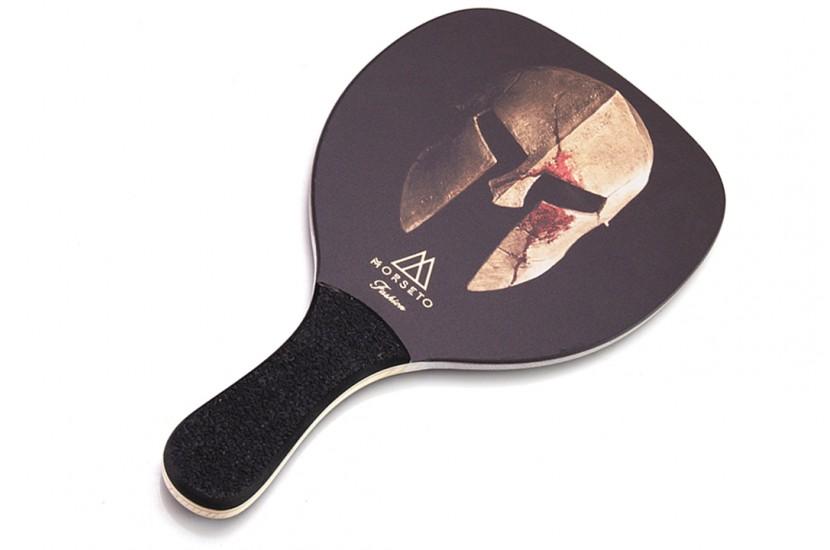 Ρακέτα Παραλίας MORSETO FASHION Helmet με Μαύρη Ίσια Λαβή