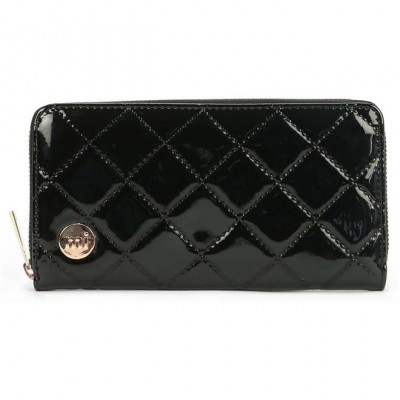 Πορτοφόλι Mi-Pac Patent Quilt Zip Purse Black