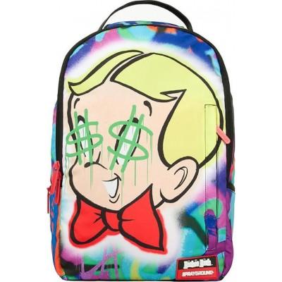 736135fd5488 Backpack Sprayground Richie Rich Dollar Signs