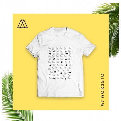 Ανδρικό T-Shirt Morseto Airplane