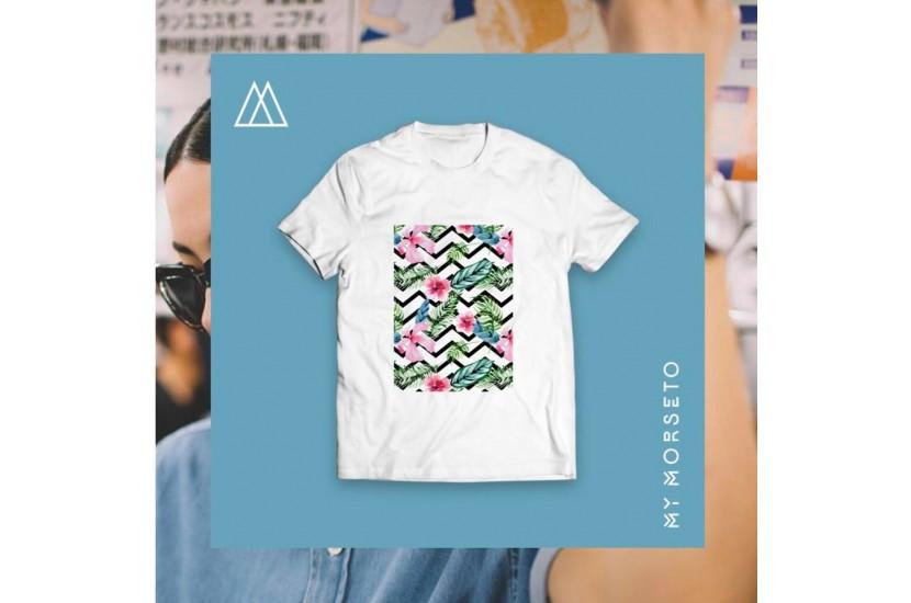 Ανδρικό T-Shirt Morseto Flower