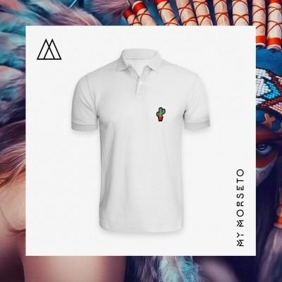 Ανδρικό Μπλουζακι Polo Cactus Ασπρο