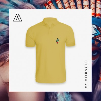 Ανδρικό Μπλουζακι Polo Cactus Κίτρινο