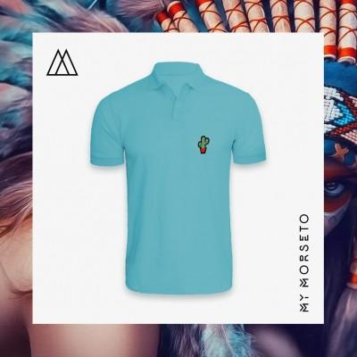 Ανδρικό Μπλουζακι Polo Cactus Γαλάζιο