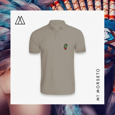 Ανδρικό Μπλουζακι Polo Cactus Γκρι