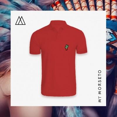 Ανδρικό Μπλουζακι Polo Cactus Κόκκινο