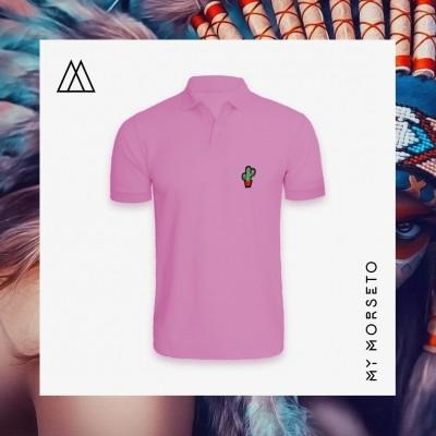 Ανδρικό Μπλουζακι Polo Cactus Ροζ