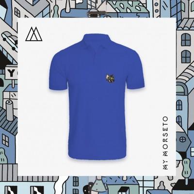 Ανδρικό Μπλουζακι Polo Cat Μπλε