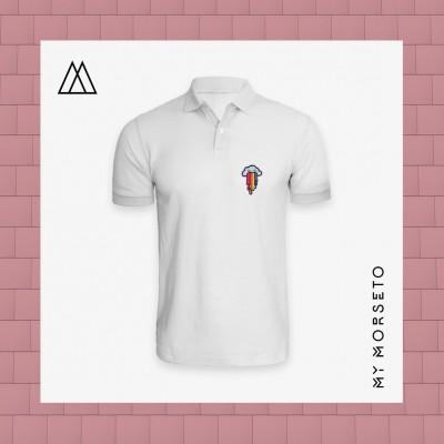 Ανδρικό Μπλουζακι Polo Cloud Ασπρο