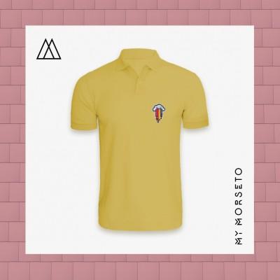 Ανδρικό Μπλουζακι Polo Cloud Κίτρινο