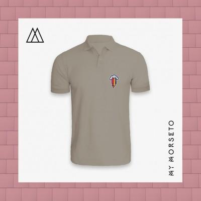Ανδρικό Μπλουζακι Polo Cloud Γκρι