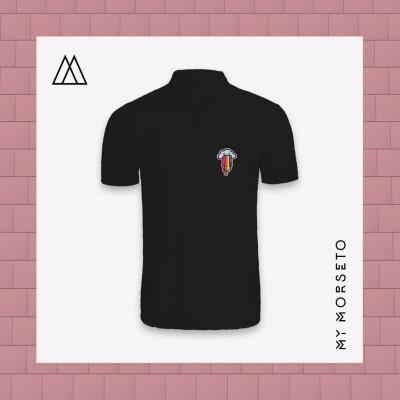 Ανδρικό Μπλουζακι Polo Cloud Μαύρο