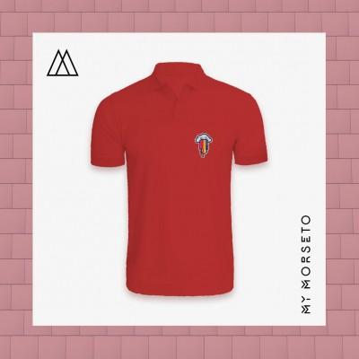 Ανδρικό Μπλουζακι Polo Cloud Κόκκινο