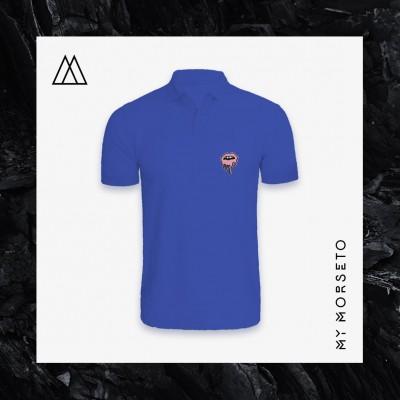 Ανδρικό Μπλουζακι Polo Lips Μπλε