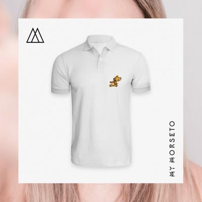 Ανδρικό Μπλουζακι Polo Mouse Ασπρο