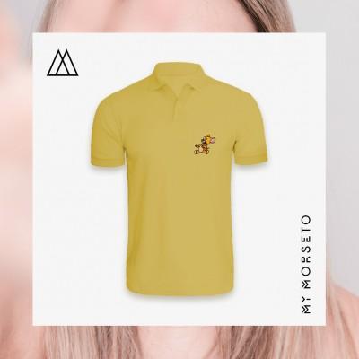 Ανδρικό Μπλουζακι Polo Mouse Κίτρινο