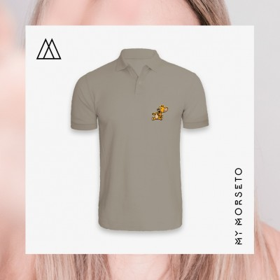 Ανδρικό Μπλουζακι Polo Mouse Γκρι