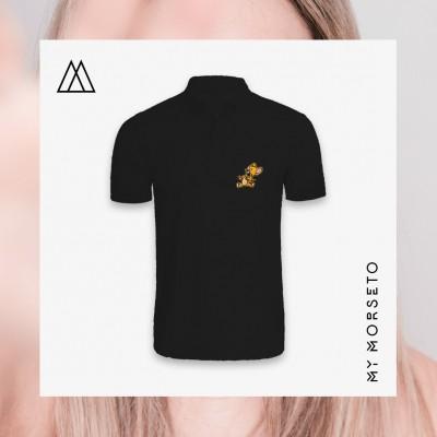 Ανδρικό Μπλουζακι Polo Mouse Μαύρο