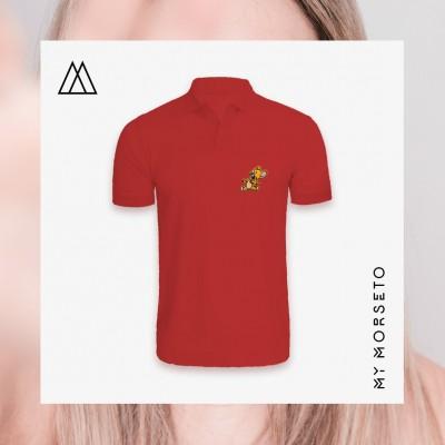 Ανδρικό Μπλουζακι Polo Mouse Κόκκινο