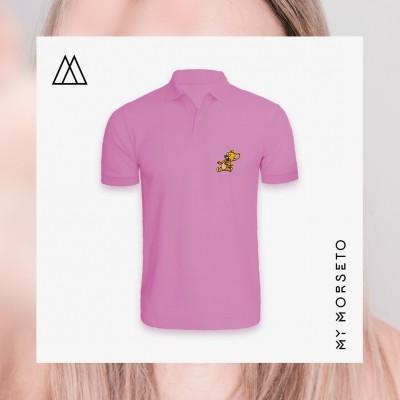 Ανδρικό Μπλουζακι Polo Mouse Ροζ