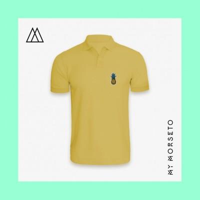 Ανδρικό Μπλουζακι Polo Pineapple Κίτρινο