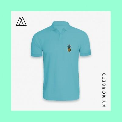 Ανδρικό Μπλουζακι Polo Pineapple Γαλάζιο