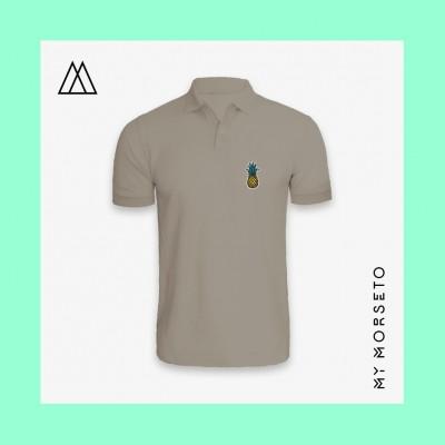 Ανδρικό Μπλουζακι Polo Pineapple Γκρι