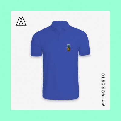 Ανδρικό Μπλουζακι Polo Pineapple Μπλε