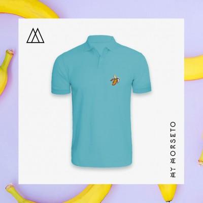 Ανδρικό Μπλουζακι Polo Banana Γαλάζιο