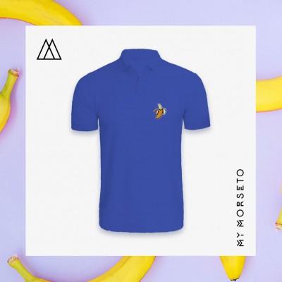 Ανδρικό Μπλουζακι Polo Banana Μπλε