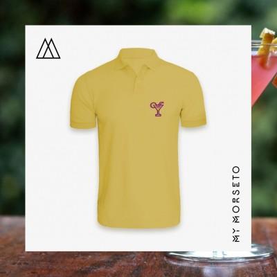 Ανδρικό Μπλουζακι Polo Cocktail Κίτρινο
