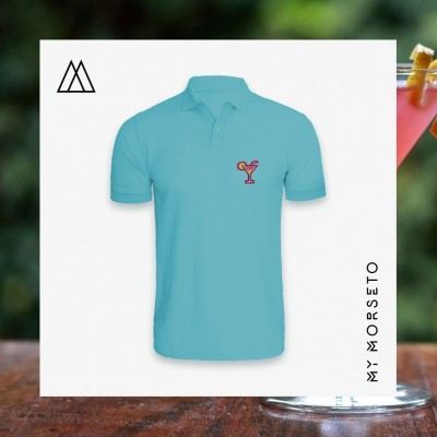 Ανδρικό Μπλουζακι Polo Cocktail Γαλάζιο