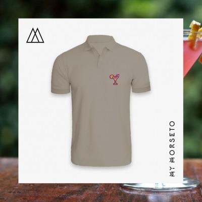 Ανδρικό Μπλουζακι Polo Cocktail Γκρι